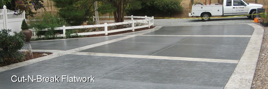 Superieur ... Comes To Concrete Finishes. Weather It Be A Large Commercial/industrial  Slab, Or A Decorative Residential Patio Or Driveway, Cut U0027N Break  Construction ...